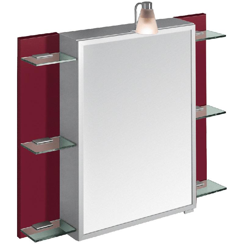 Висячий шкафчик с зеркалом