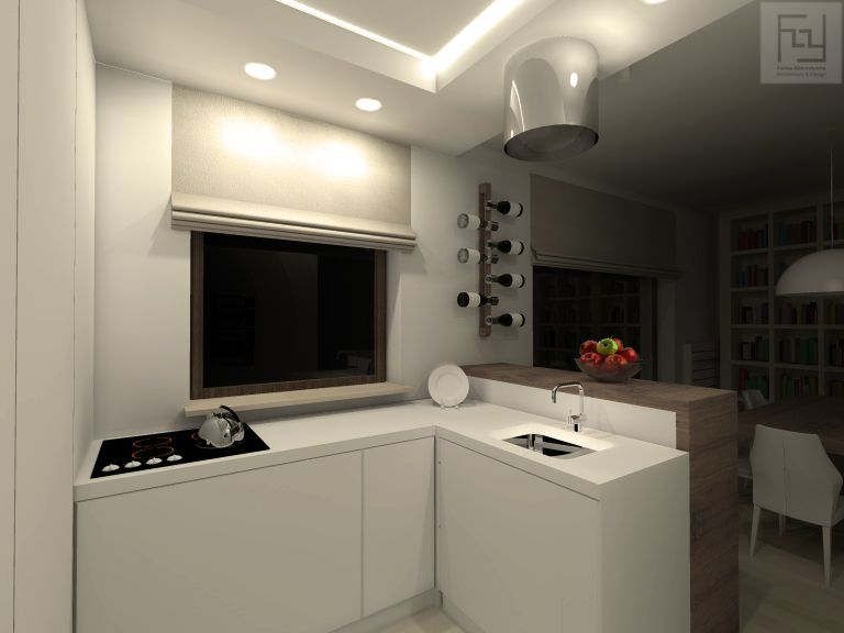Дизайн квартиры: 55 кв. м для семьи из четырех человек