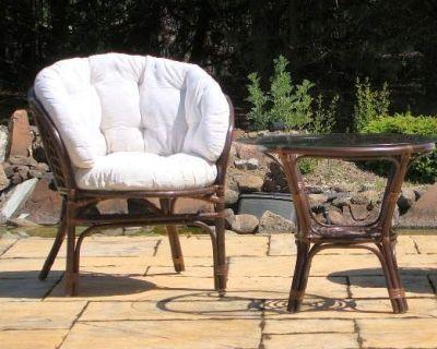 Садовая мебель из различных материалов
