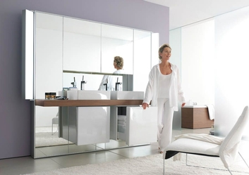Инновационная шкаф с зеркалом