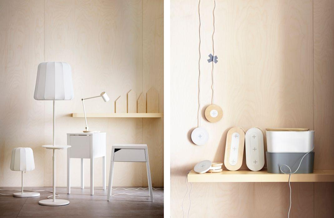 Мебель и аксессуары от Мебель Верес с беспроводной зарядкой