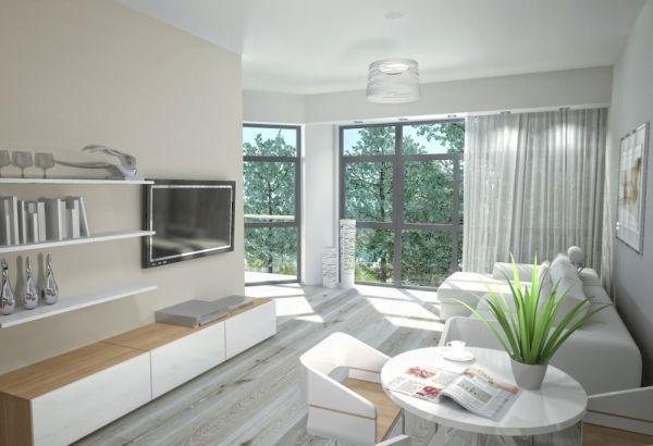 Роскошные апартаменты в скандинавском стиле. Фото