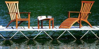 Из какой древесины должна быть изготовлена садовая мебель?
