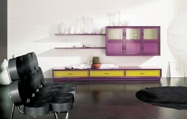 Цвета интерьера – мебель в сказочных цветах