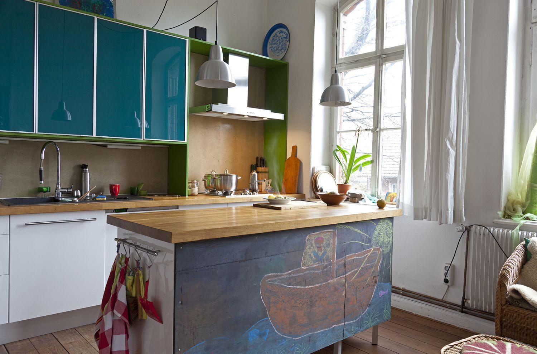 Грифельная краска - преимущества и возможности