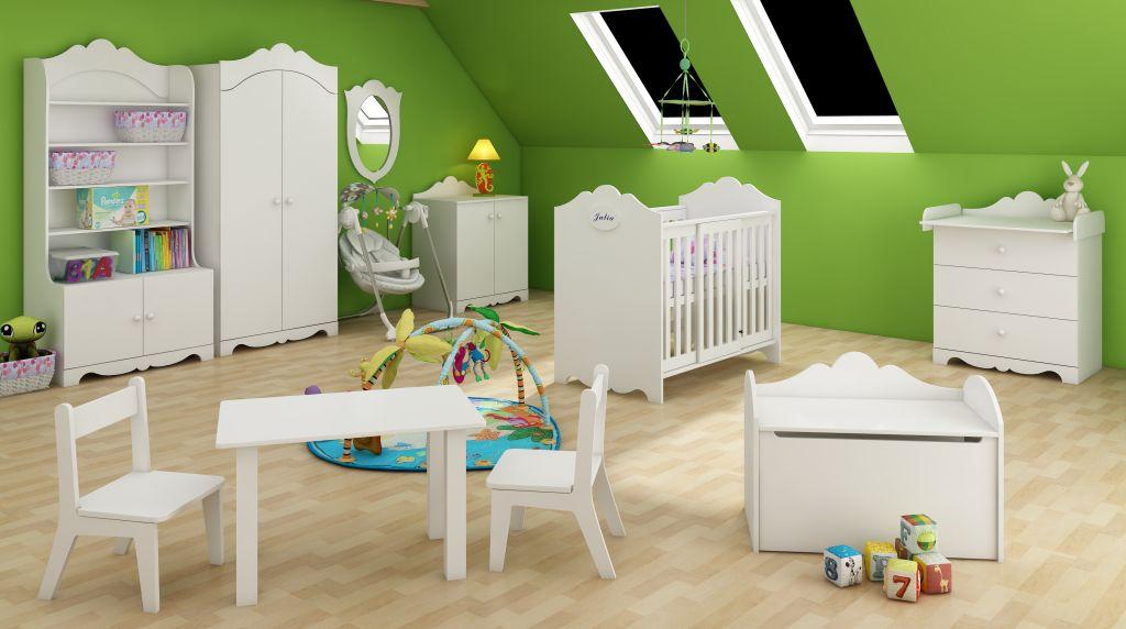 """Комплект мебели для младенца компании Верес – """"Королевская элегантность"""""""