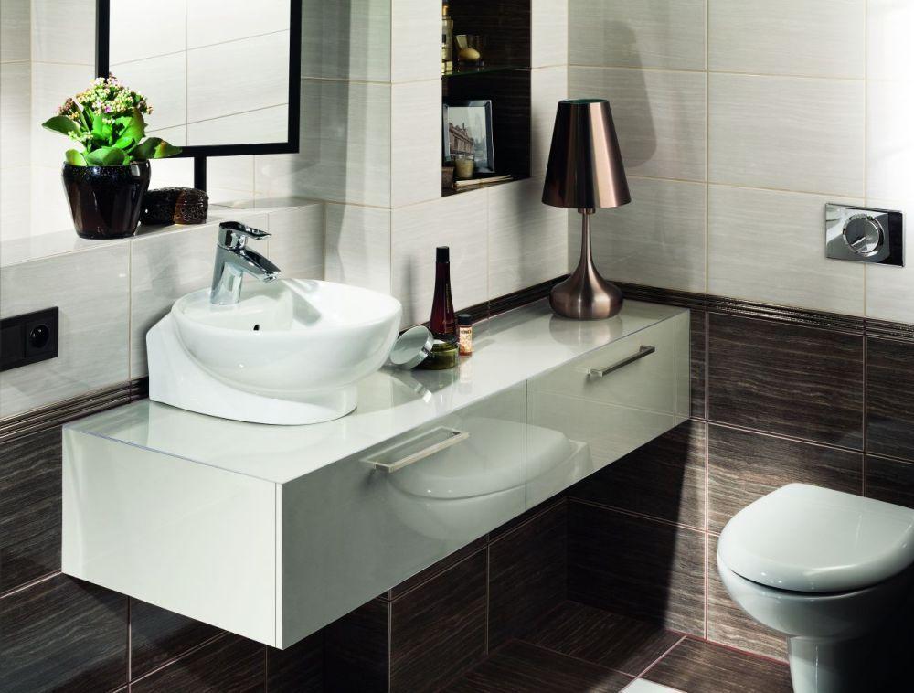 Плитка для ванной с имитацией древесины: 3 вдохновляющие коллекции