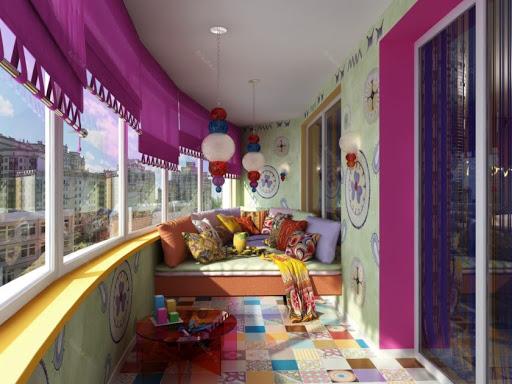 жилой балкон фото