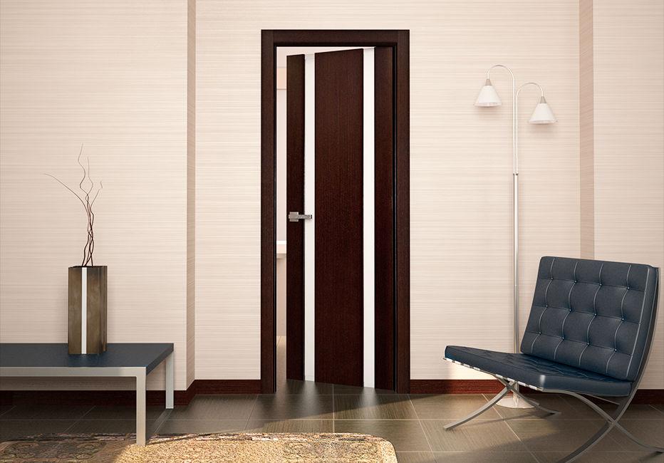 Эко-шпон для межкомнатных дверей